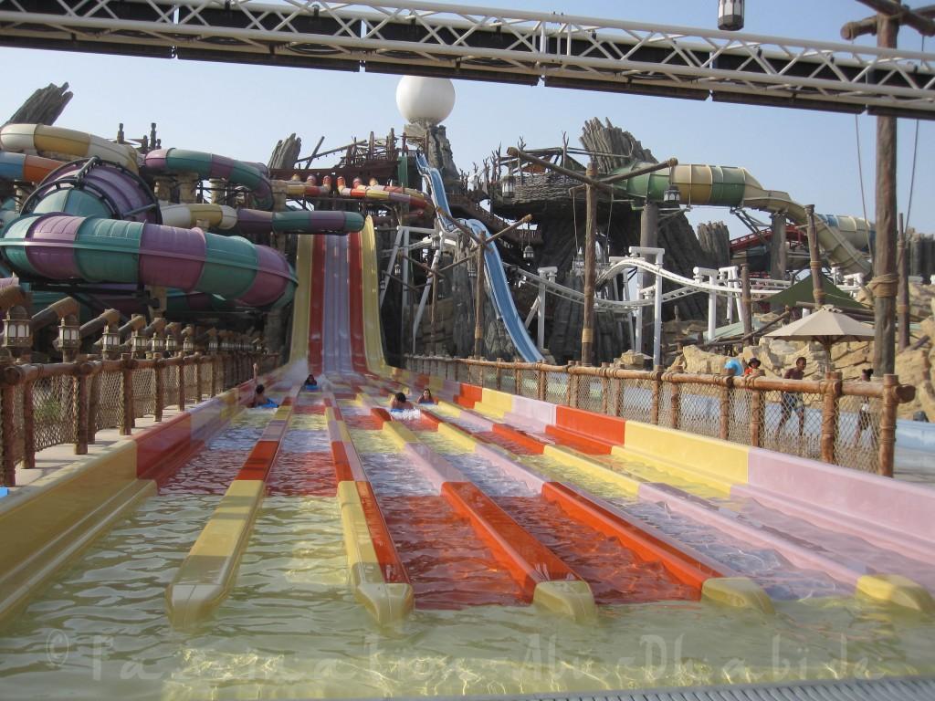 Nicht nur für Kinder ein tolles Erlebnis: Die Yas Waterworld rockt!