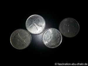 Dirham - die Währung in Abu Dhabi und den VAE