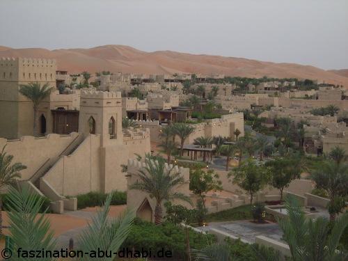 Ein Hotel mitten in der Wüste: In Abu Dhabi wird ein solcher Traum wahr.