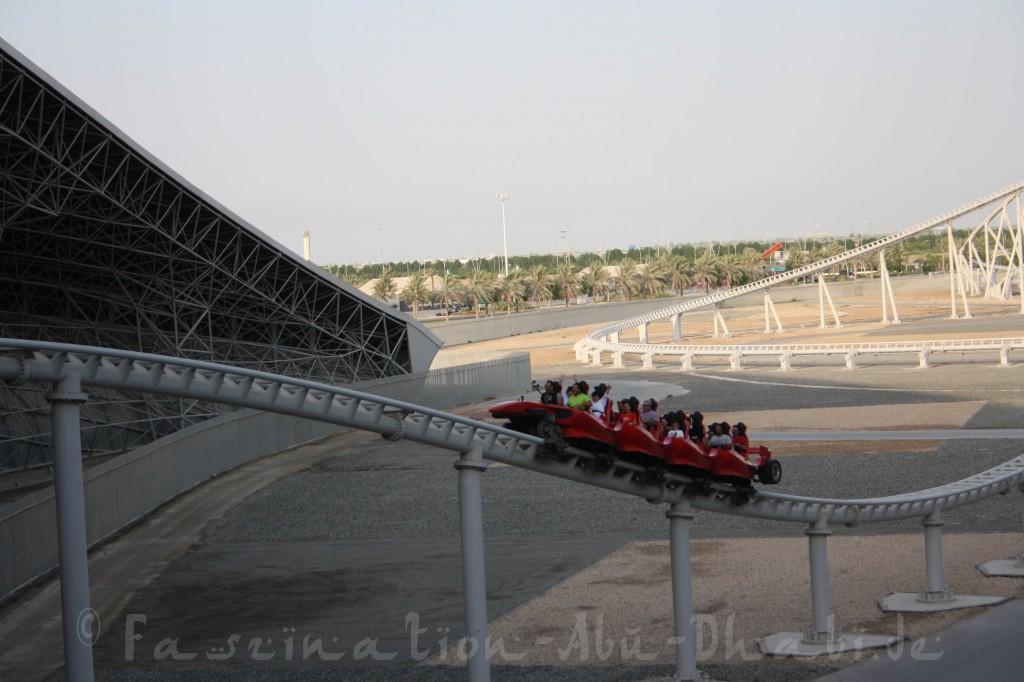 Die ersten Sekunden in der Formula Rossa bescheren Euch ein unbeschreiliches Gefühl