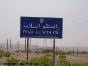 Wüste hautnah erleben und keine Gefahren fürchten müssen - das ist in Abu Dhabi möglich.