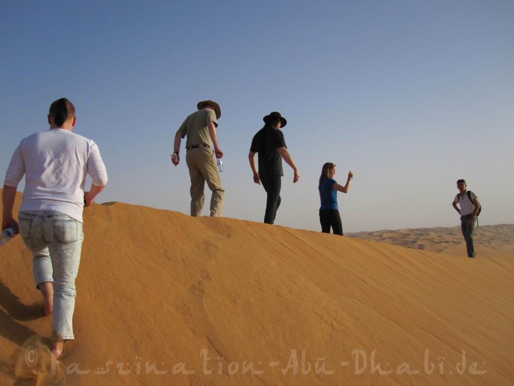 Barfuß durch einsame Dünen: Nehmt Euch Zeit und genießt die Stille!