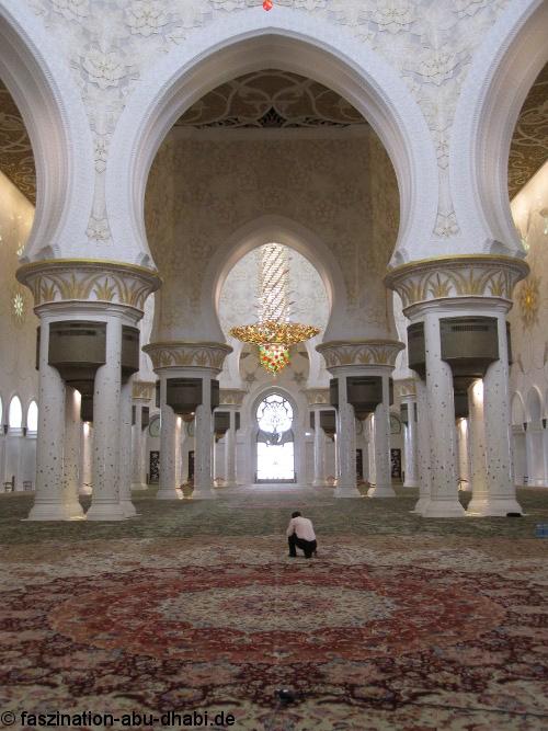 Sheikh Zayed Moschee Abu Dhabi Individuell Entdecken