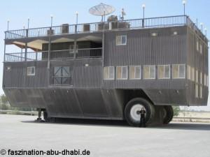 Im Automuseum Abu Dhabi gibt es einige außergewöhnliche Fahrzeuge.