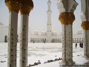 Abu Dhabi und seine große Moschee: Zukunft und Tradition sind hier gleichermaßen wichtig.