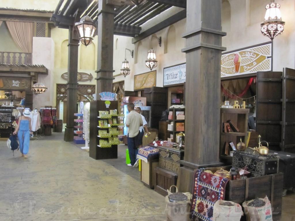 Foyer der Waterworld - hier befinden sich die Shops, Umkleiden und die Handtuchausgabe