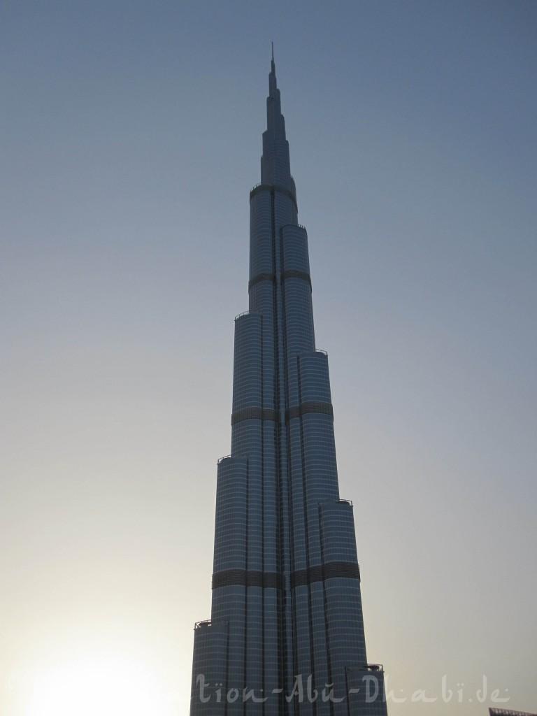 Wahrlich: Der Burj Khalifa ist erfurchtseinflößend und sicher nichts für Menschen mit Höhenangst