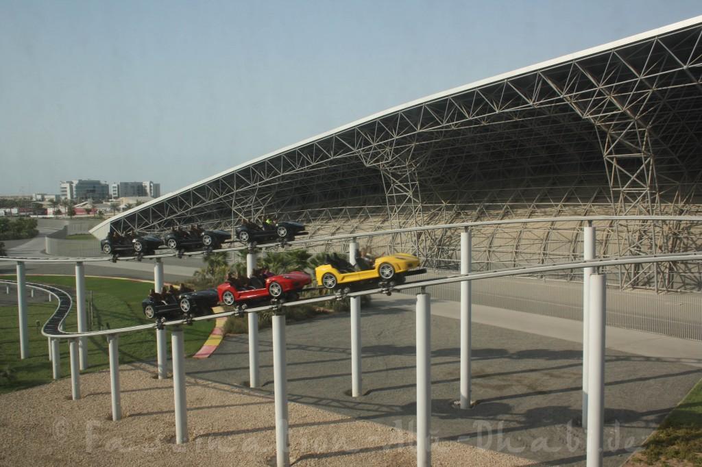 Spaß für Achterbahn-Fans in Abu Dhabi, wenn auch nichts Weltbewegendes